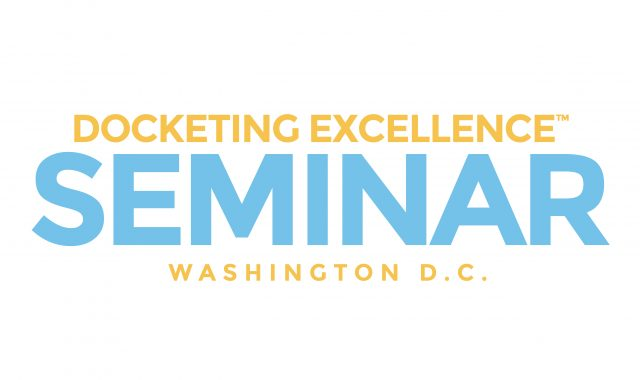 DocketingExcellenceSeminarWashingtonDCBanner