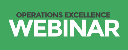 Operations Excellence Webinar
