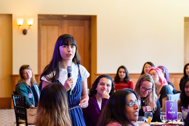Question at Girls @ The Tech Luncheon