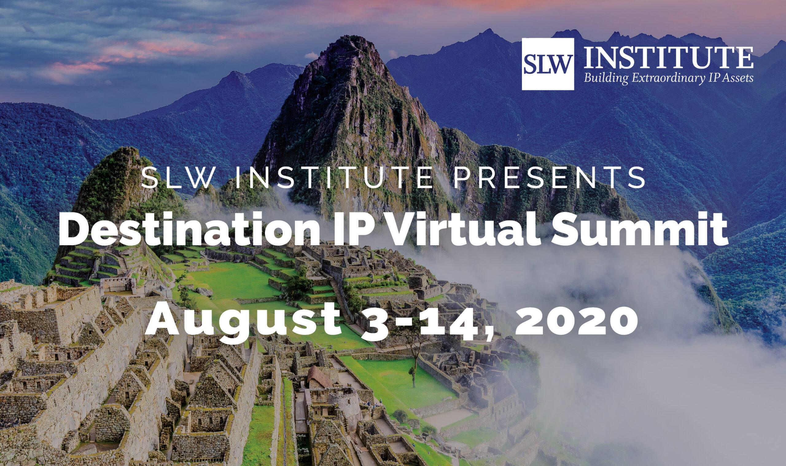 SLW Institute Virtual Summit